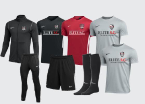 Elite S.C. Full Uniform Package